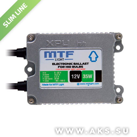 Блок розжига MTF Light XPU SLIM 1235CB