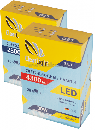 Clearlight LED H4