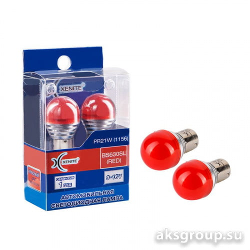 XENITE  PR21/5W BP630SL RED